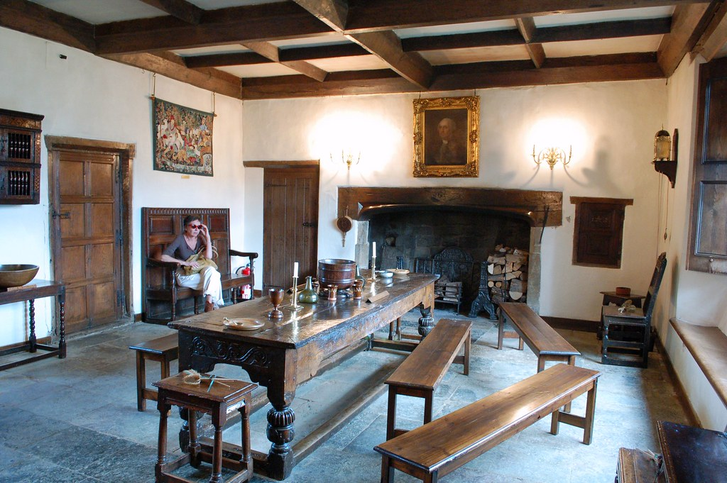 Sulgrave Manor  Great Hall  The Great Hall has a stone flo  Flickr
