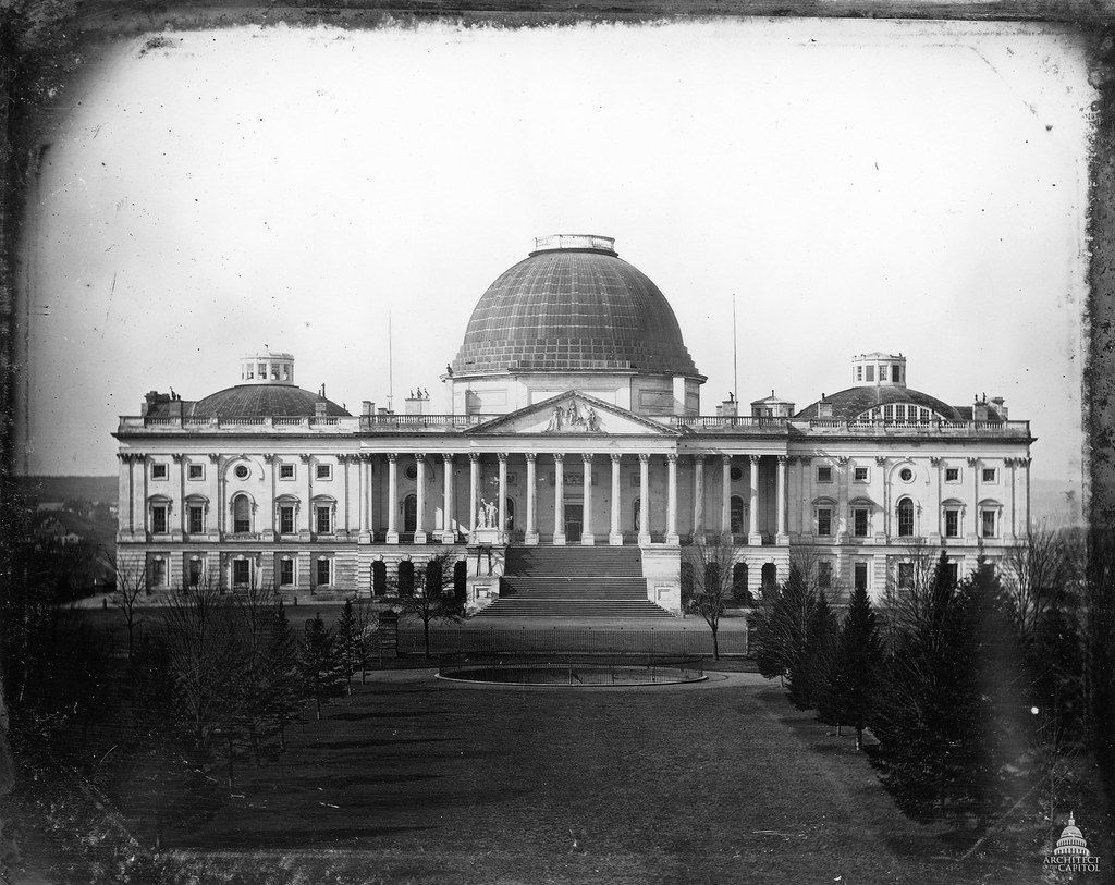 United States Capitol  1846  This 1846 photograph by John   Flickr
