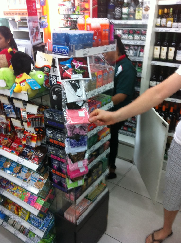 711 in Singapore thongs and rubbers what else do you n  Flickr
