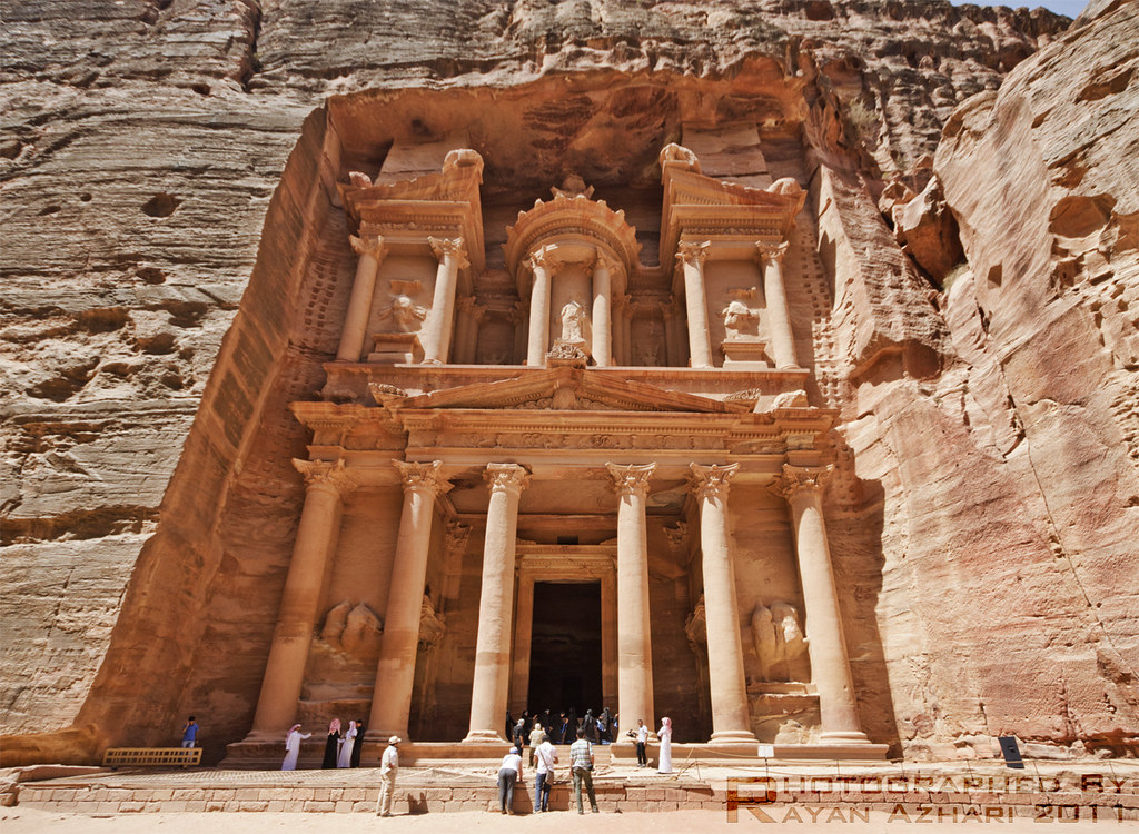 Jordan 3d Wallpaper The Treasury Al Khazna Al Petra الخزنة البتراء ال
