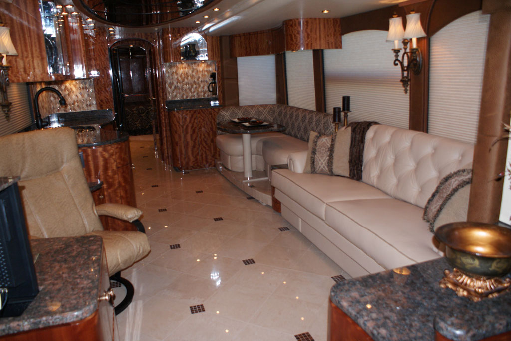 Millennium Luxury Coaches Custom RV Interiors  New  Pre