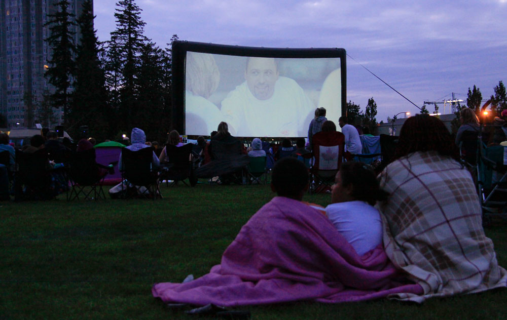 Image result for movies under the stars