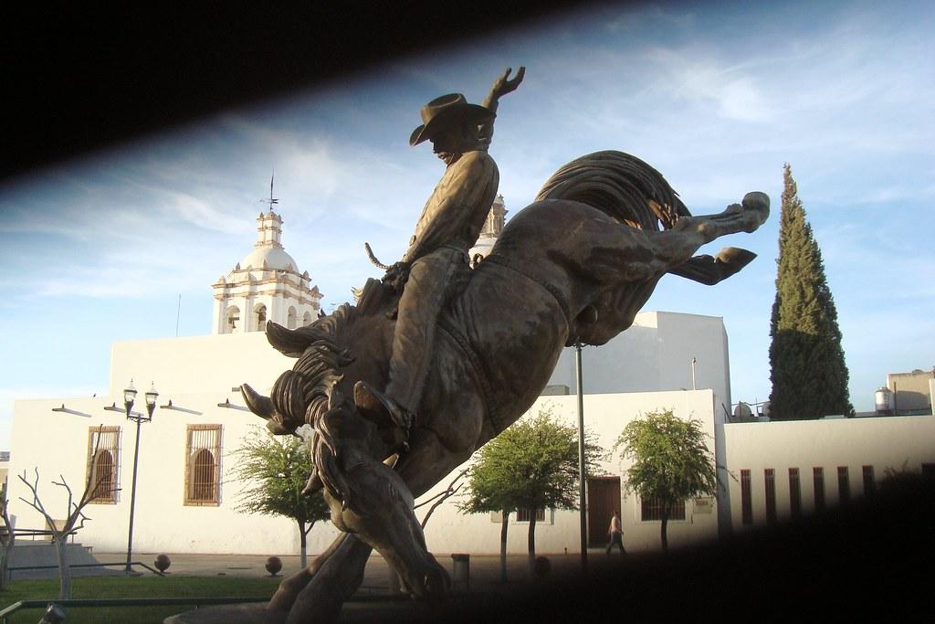 Ecuestre De Vaquero Ciudad De Chihuahua Estado De Chihua