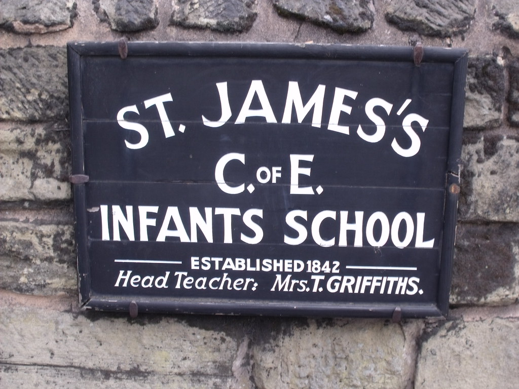 Black Country Living Museum - St James's School - sign | Flickr