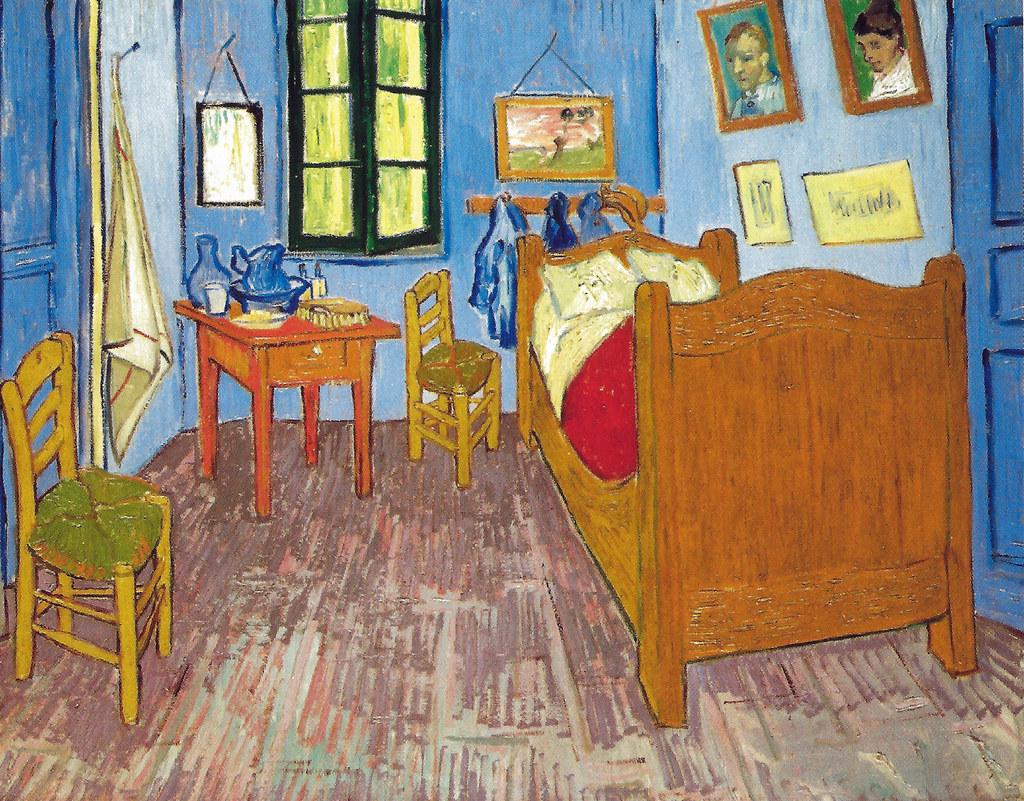Vincent Van Gogh Van Goghs Bedroom At Arles 1889 At Mu