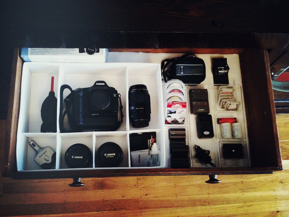 DIY Camera Equipment Storage  How to Make a Photography G