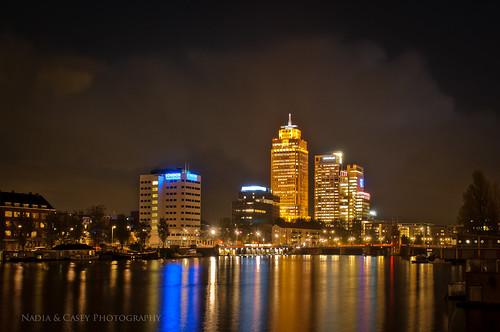 Amstel Skyline  Amsterdam Netherlands   Follow me on