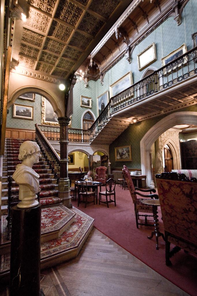 Tyntesfield House Hall Colour Eddiestannes1 Flickr
