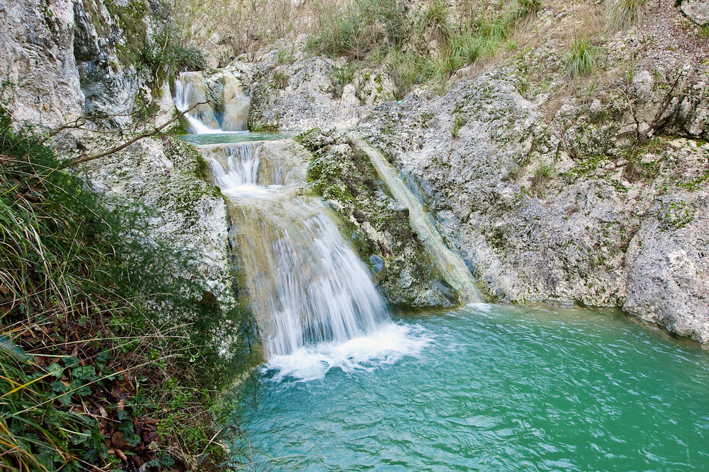Gole del Melfa cascatelle di Rio Vallecontieri Santopadr