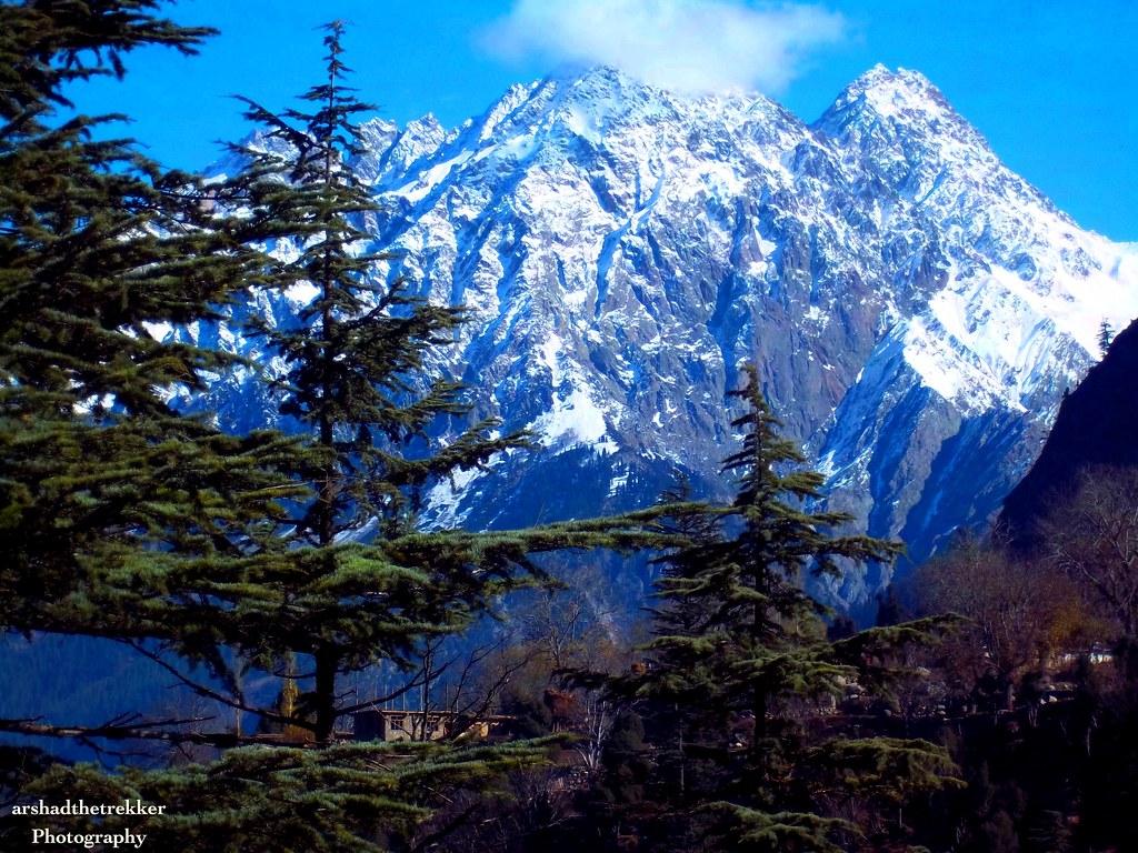 3d Wallpaper In Pakistan Falak Sher Mountain A View From Ushu Kalam Valley Swat