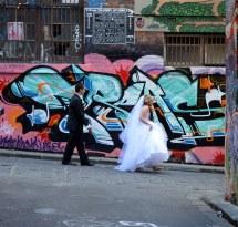 Barefoot Bride Suspect Heels Much
