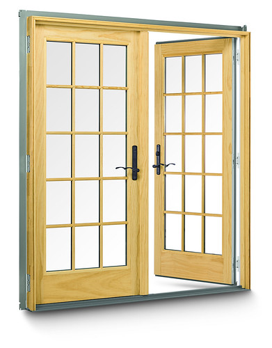 400 Series Frenchwood Hinged Outswing Patio Doors  400