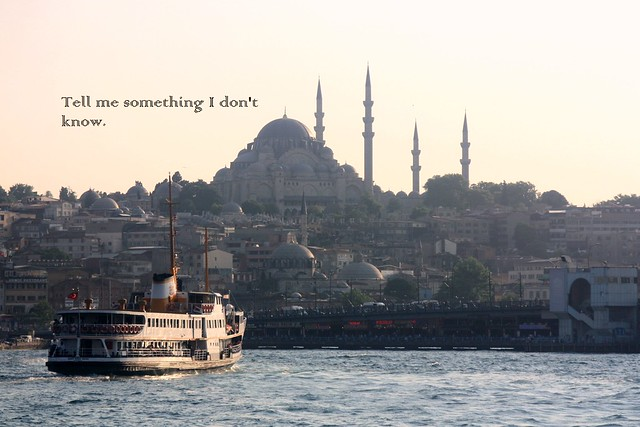 Golden Horn and Suleiman, the Magnificent Mosque