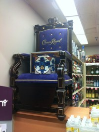Crown Royal Chair