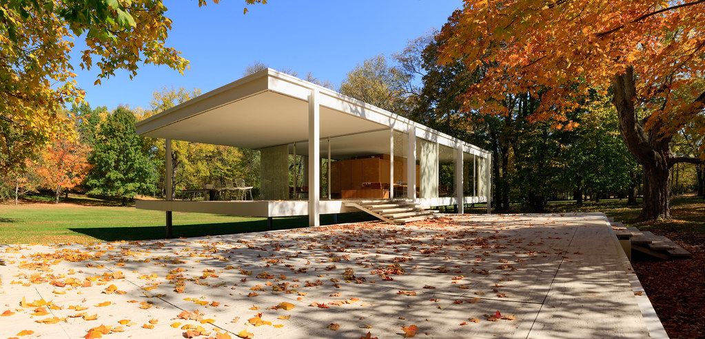 Farnsworth House  As the story goes one of the main