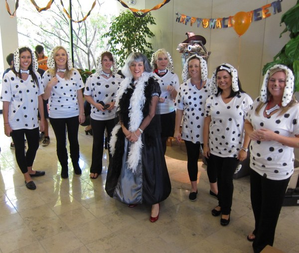 Dalmatians Office Costume Contest Winners