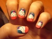 Cupcake nail design | drpeety | Flickr