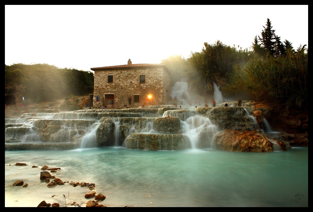 Terme di Saturnia  Europes hot springs 20 of the best