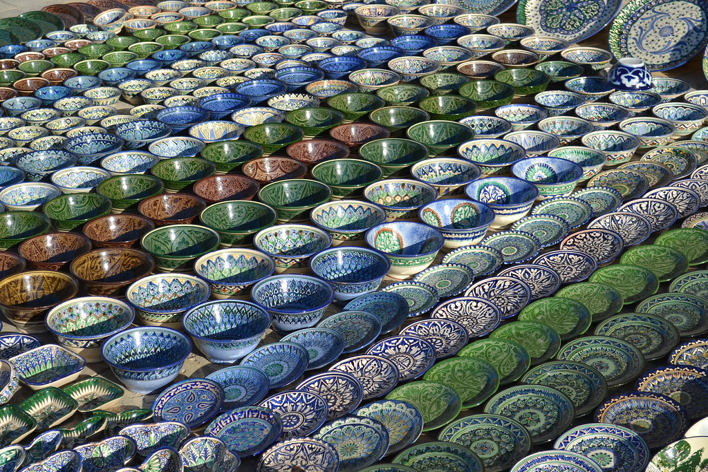 Handcrafted Ceramic Pottery  Bukhara Uzbekistan  Of all t  Flickr
