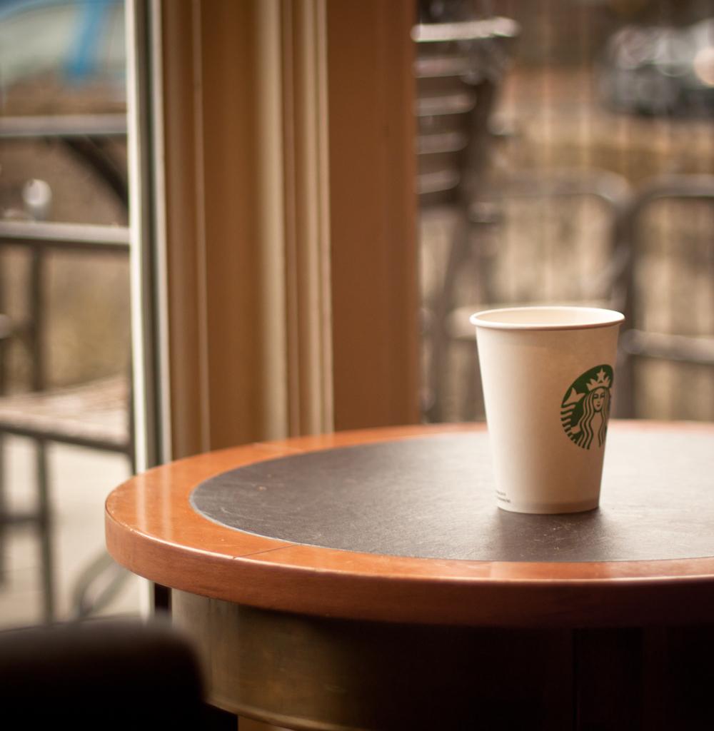 Starbucks  At a couple of minutes past twelve Sophie walke  Flickr