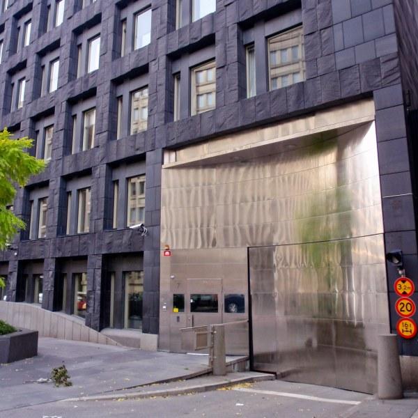 Sveriges Riksbank Stockholm Architect Peter Celsing