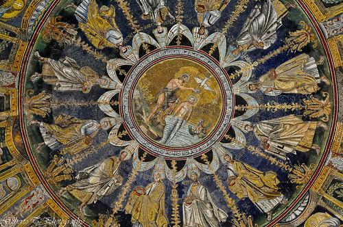 Cupola del Battistero Neoniano Ravenna  Il capolavoro