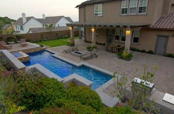elegant backyard landscaping