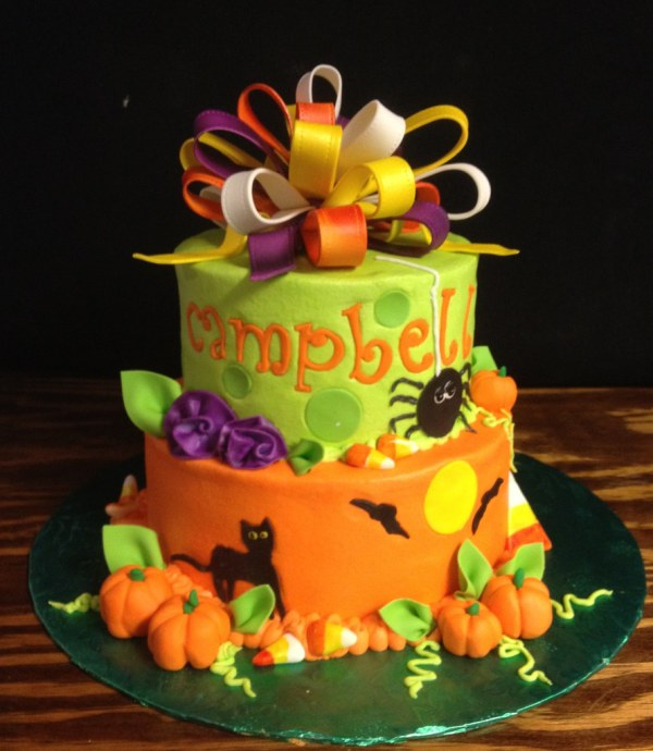 Campbell39s Halloween Birthday cake Christie Flickr
