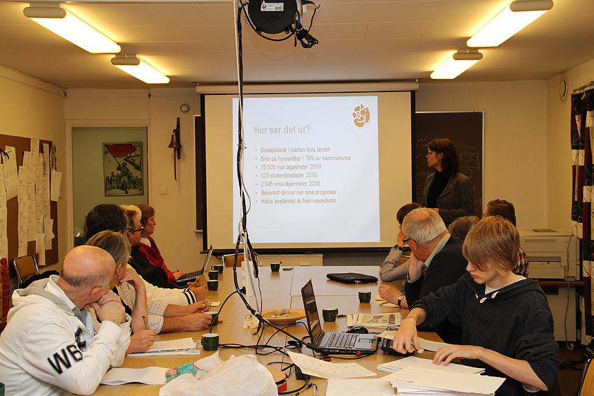 Veronika Palm besöker Kungälv 2011-11-03