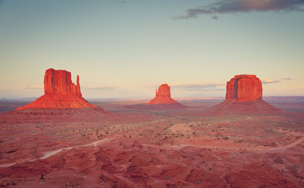Monument Valley Mittens Sunset  Al King  Flickr