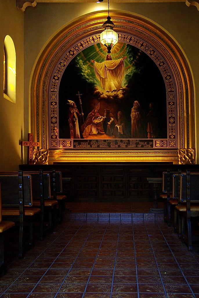 Tlaquepaque Chapel interior  Sedona  This is the Chapel