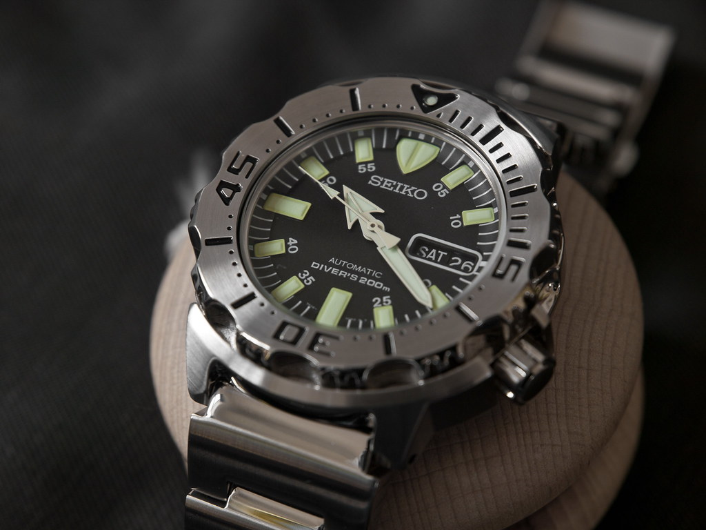 Seiko SKX779 Black Monster  Type Divers Movement