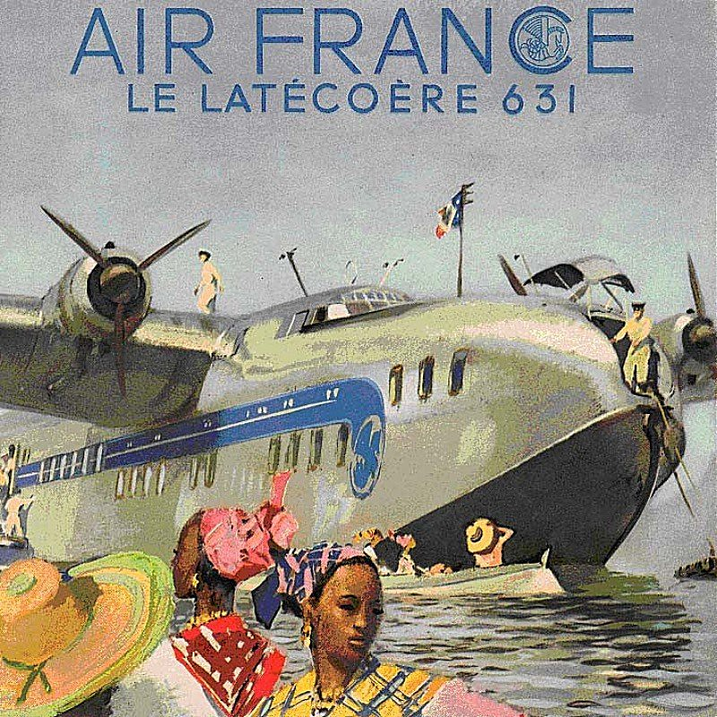 Latcore Late 631 Air France Poster  kitchenerlord  Flickr