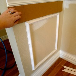 Picture Frame Moulding Below Chair Rail Best Place To Buy A Bean Bag Template For Trim Meredith Heard Flickr