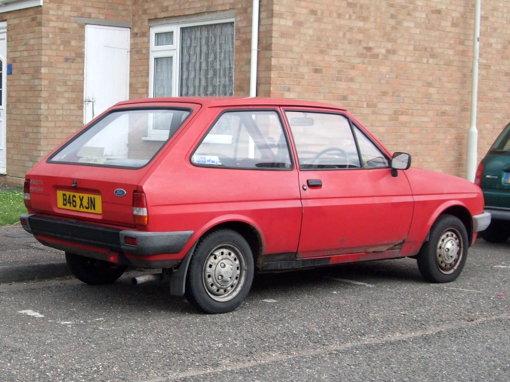 hight resolution of  1984 ford fiesta popular by stuart axe