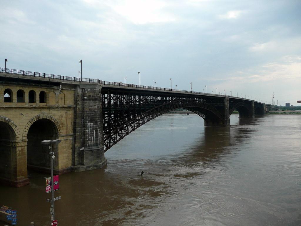 Eads Bridge  Eads Bridge the first bridge over the