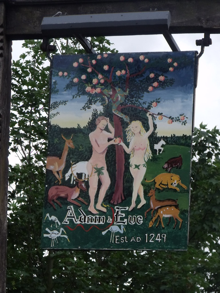 Adam and Eve Bishop Gate Norwich  pub sign  Buildings ou  Flickr