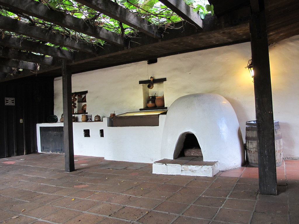 Olvera Street Los Angeles CA  vila Adobe  Patio Kit