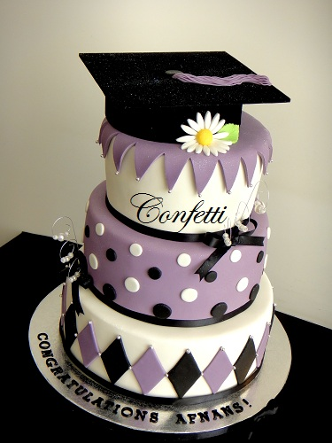 Graduation cakeagain  This is a 4tier version of a
