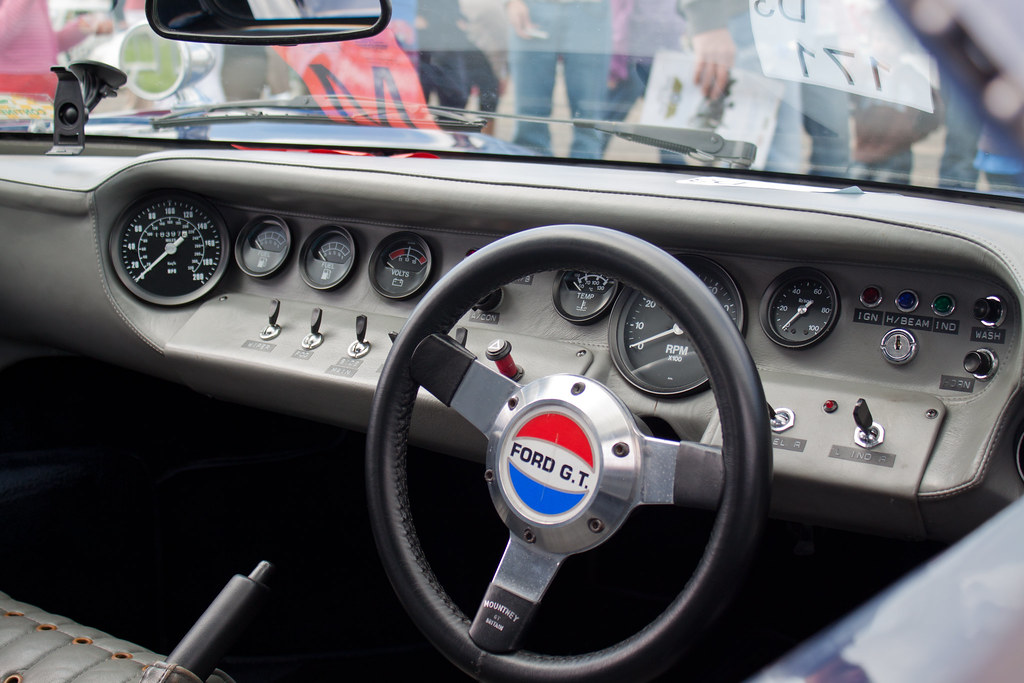 GT40 dashboard  Ford GT40 dashboard Spartan I love the