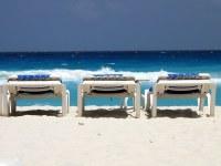 Beach Chairs, Cancun | Beachs chairs at Cancun, Mexico ...