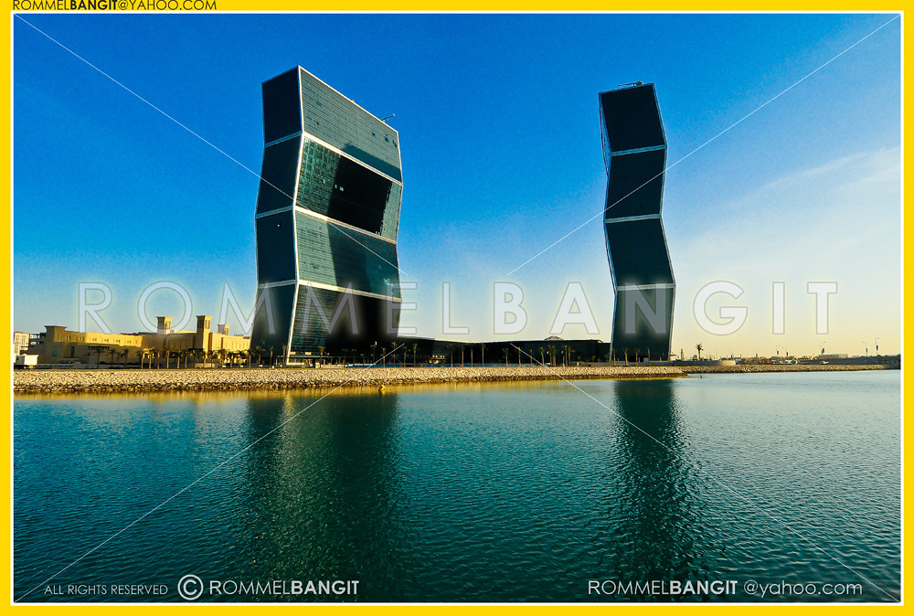 Zig Zag Towers In West Bay Lagoon Plaza In Doha Qatar By