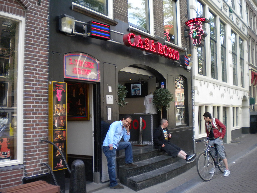 The Casa Rosso  Red Light District Amsterdam  www