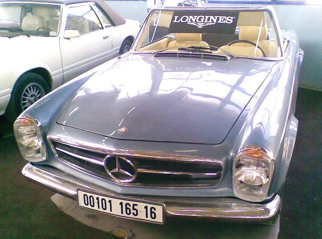 Mercedes 230 sl de 1965  foire auto Alger 2008 SAFEX
