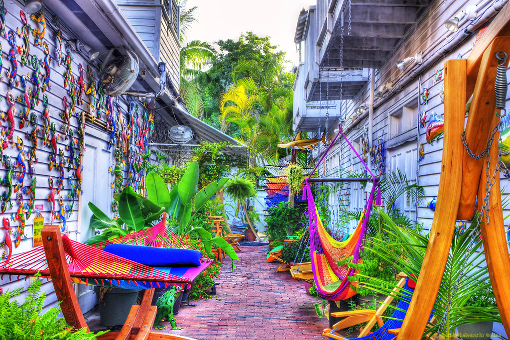 Key West Hidden Alley  24x16250px  HDR  Another HDR