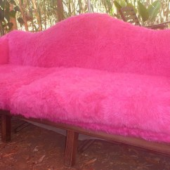 Fuzzy Sofa Corbusier Lc3 1 Of 4 Pink Fur Couches For Burning Man 2011 32 Yards P Flickr