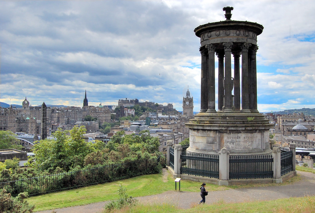 Dugald Stewart Monument  Constructed in 1831 the Stewart