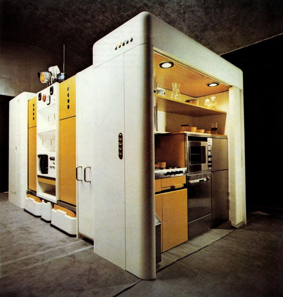 Total Furnishing Unit By Joe Colombo Designer Joe