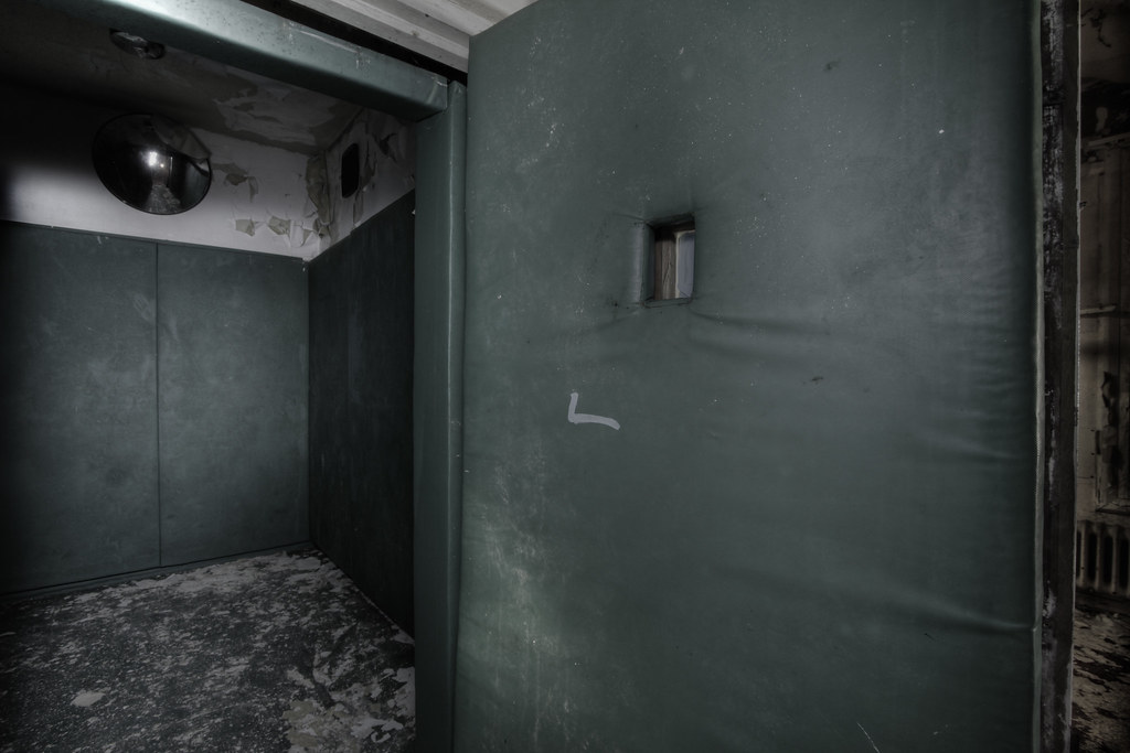 Padded cell  Alone in the darkness  Phil  Flickr