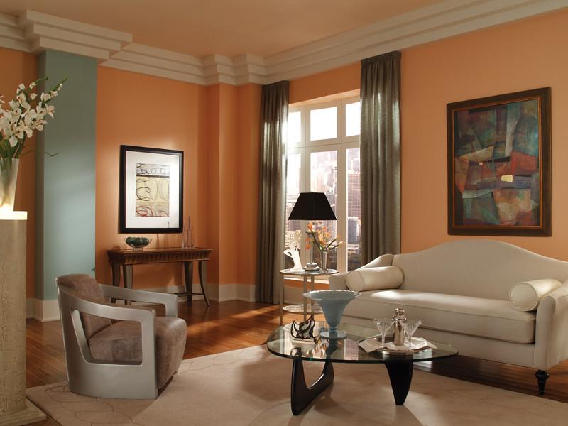 Art Deco Living Room  Walls Pink Beach 230C3 Ceiling